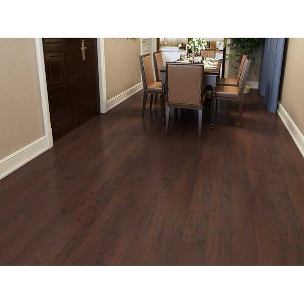 Cherry Finish Engineered Hickory Wood Flooring (26.68 Sq. Ft/Carton)
