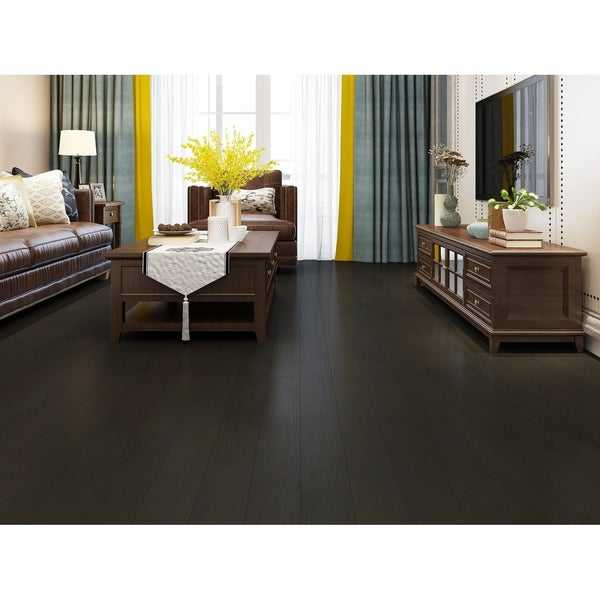 Pecan Finish Engineered Oak Wood Flooring (19.68 Sq. Ft/Carton)
