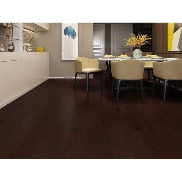 Caramel Finish Engineered Hickory Wood Flooring (19.68 Sq. Ft/Carton)