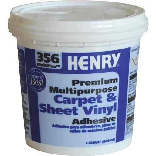 Henry, W.W. Co. Qt H356 Mp Flor Adhesive 12072 Unit: EACH
